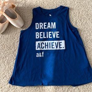 Abercrombie Kids Dream Believe Achieve Tank